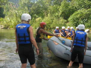 Rafting in Jarabacoa